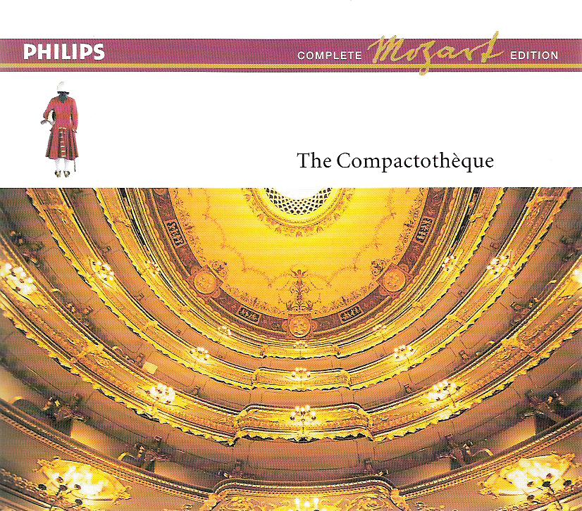 Philips Complete Mozart Edition Compactotheque
